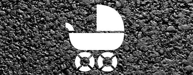 Kinderwagenstellplatz